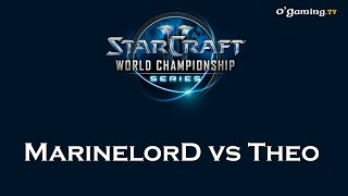 WCS Qualifier EU - Saison 2 - Day 2 Match 7 - MarineLorD vs Theo