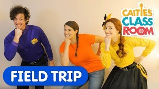 Caitie visits Emma & Lachy from The Wiggles backstage! | Caitie's Classroom Field Trip