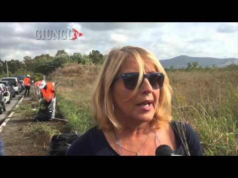 Migranti volontari: in azione per ripulire i marciapiedi