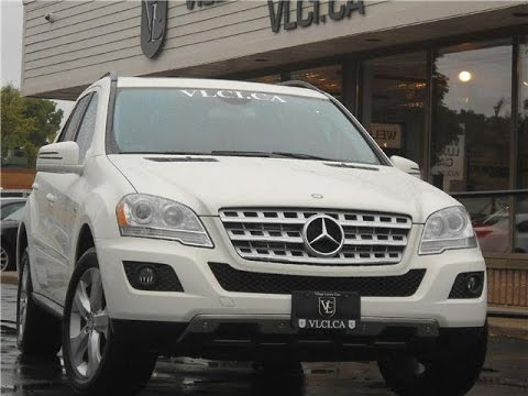 2011 Mercedes-Benz ML350 in review - Village Luxury Cars Toronto