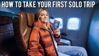 How To Take Your First SOLO TRAVEL Trip! by Monica Church