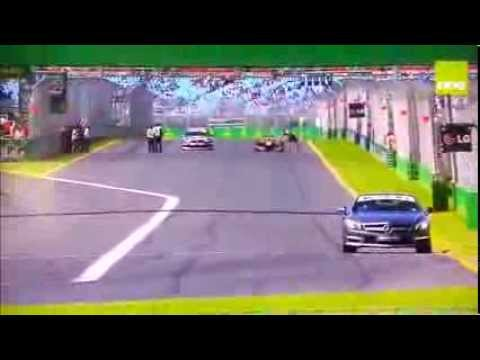Desafío: F.1 vs. V8 Supercar vs. SL63 AMG