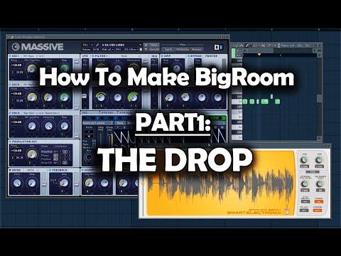 How to Make Big Room with FL Studio - Part1: The Drop (видео)