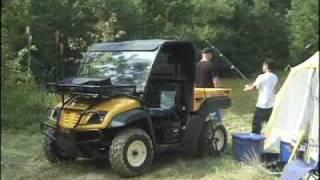 4. Cub Cadet 4x4 Diesel jezdy v teréne  www.mpt.sk
