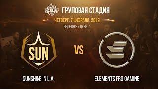 LCL OC 2019: Групповая стадия. SUN vs EPG | Неделя 2, День 2 / LCL