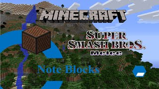 Minecraft Note Block Song-Super Smash Bros Melee Theme (X-Post from /r/Minecraft)