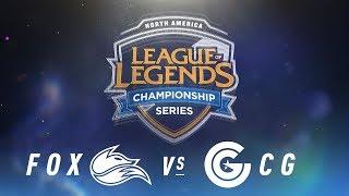 Video FOX vs. CG - Week 1 Day 2 | NA LCS Spring Split | Echo Fox vs. Clutch Gaming (2018) MP3, 3GP, MP4, WEBM, AVI, FLV Juni 2018