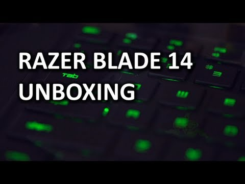 Razer Blade 14 Unboxing & Overview