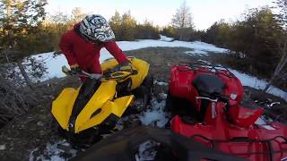 9. 2018 Suzuki King Quad 750 Fast trail Riding