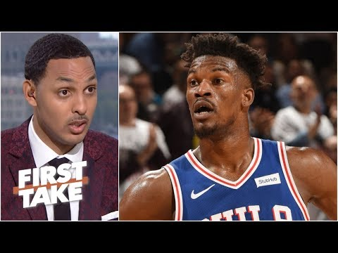 Video: Jimmy Butler not going to the Houston Rockets is ridiculous – Ryan Hollins | First Take