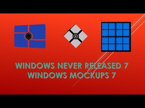 Windows Never Released Versions / Windows Mockups 7 (with future editions 2085-∞)