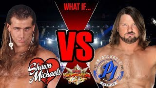 Nonton Wrestling What If's... Shawn Michaels (1997-98) Vs. AJ Styles (2017-18) Film Subtitle Indonesia Streaming Movie Download