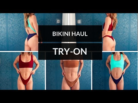 BIKINI HAUL & TRY-ON // Cheap styles for fitness shapes