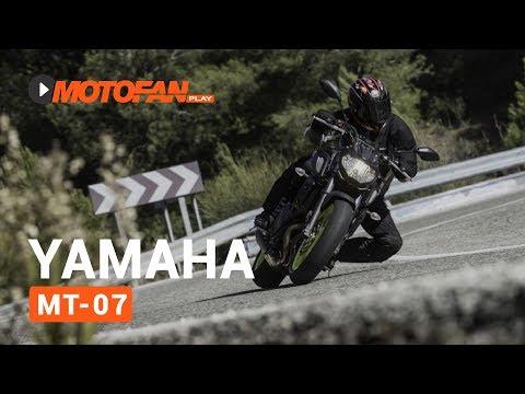 Vídeos de la Yamaha MT-07