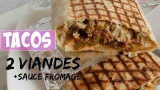 Video ✰Recette Meilleur Tacos Lyonnais 2 Viandes + Sauce Fromage✰ MP3, 3GP, MP4, WEBM, AVI, FLV Agustus 2018