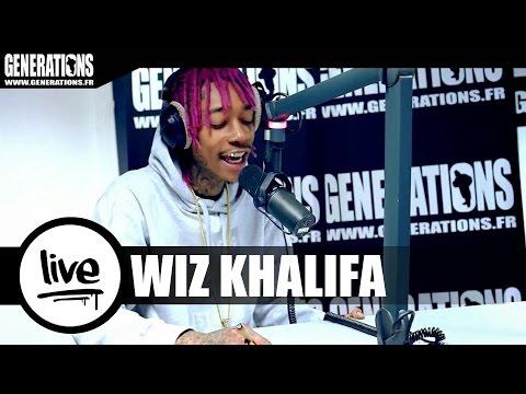 Wiz Khalifa - Stayin Out All Night (Live des studios de Generations)