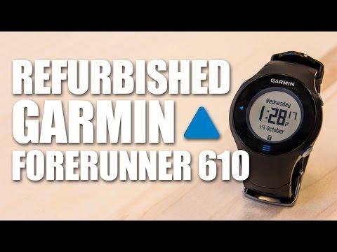 Unboxing a Refurbished Garmin Forerunner 610