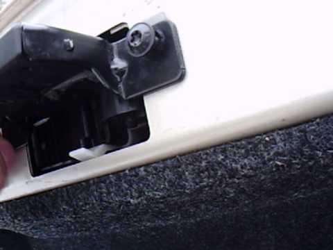 Рено меган 2 универсал как открыть багажник фото