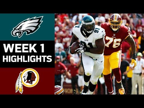 Eagles vs. Redskins | NFL Week 1 Game Highlights - Thời lượng: 7:26.