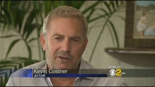 Kevin Costner Interview on Whitney Houston in The Bodyguard & Hatfields & McCoys & Modern West