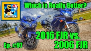 10. 2016 FJR1300 vs. 2006 FJR1300 : Quick Comparo & Buffoonery