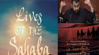 Lives of Sahaba 4 - Abu Bakr As-Siddiq 4 -  Ali giving bayyah + army of Usama b. Zayd - Yasir Qadhi