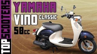 5. Yamaha Vino Classic 50cc Scooter