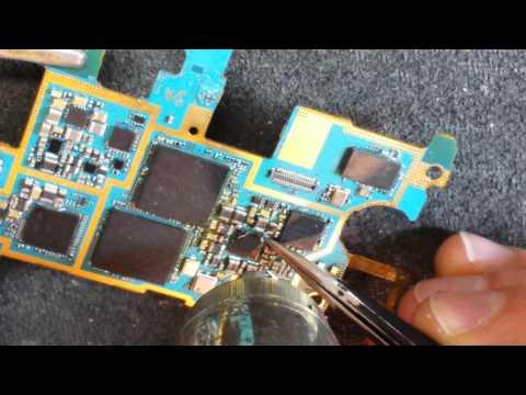 Samsung GT-N7100 Galaxy Note II меняем контроллер питания