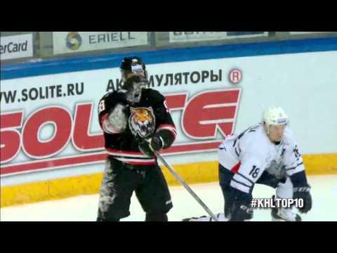 KHL Top 10 Goals for Week 22 / Лучшие голы 22-й недели КХЛ (видео)