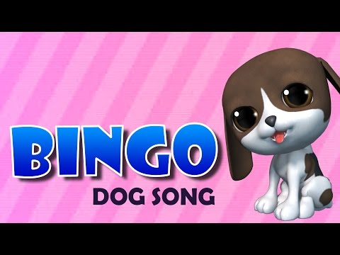 BINGO Dog Song || 3D Animation || Nursery Rhyme Song