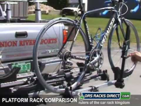 Platform-Style Hitch Bike Rack Comparison Video by ORS Racks Direct