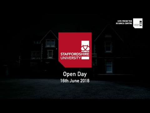Staffordshire University: Open Day