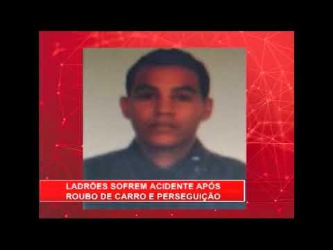 [RONDA GERAL] Ladrões sofrem acidente após roubo de carro e perseguição no bairro do Cordeiro