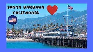 Santa Barbara (CA) United States  city pictures gallery : The beautiful Santa Barbara Pier (Stearns Wharf), California (USA)