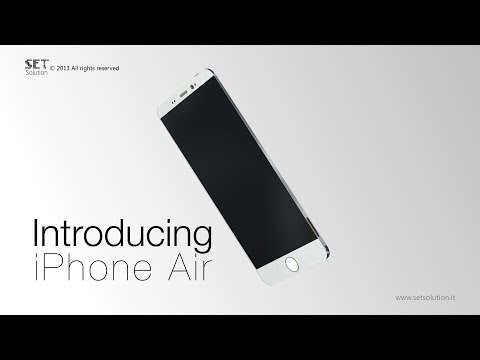 Apple iPhone Air and Apple iPhone 6 Curve concepts