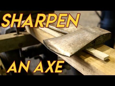 Essential Craftsman - Sharpening an Axe