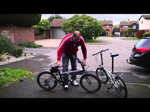P8 - Review of the Dahon Speed P8 folding bike.