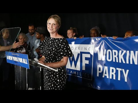 "Cynthia Nixon, ""Sex and The City""-Star,  scheitert in Vorwahl der Demokraten"