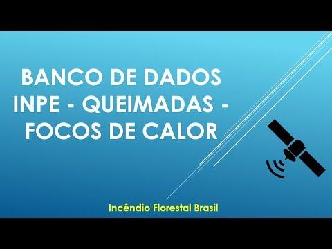 Imagens de calor - Banco de Dados INPE - QUEIMADAS - Focos de Calor