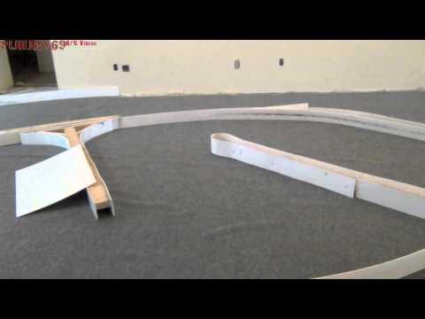 Brushless Losi Micro SCT 4x4 Carpet Track Practice