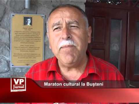 Maraton cultural la Bușteni