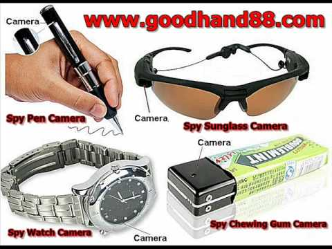Digital CCTV Spy Camera Body Worn Gadgets