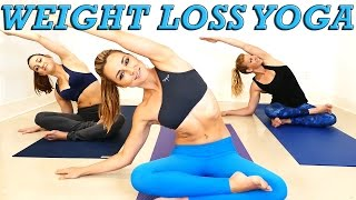 Video Yoga Weight Loss Challenge! 20 Minute Fat Burning Yoga Workout Beginners & Intermediate MP3, 3GP, MP4, WEBM, AVI, FLV Agustus 2019