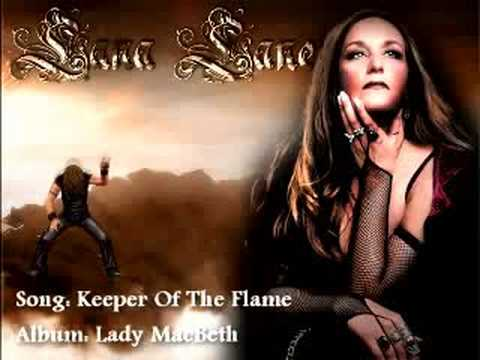 Lana Lane - Keeper Of The Flame online metal music video by LANA LANE