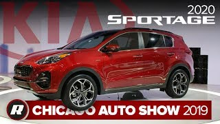 2020 Kia Sportage is less weird looking than before   Chicago 2019 by Roadshow