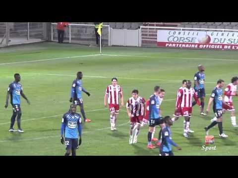 Football (Ligue 2) - Résumé et réactions AC Ajaccio-Stade Brestois