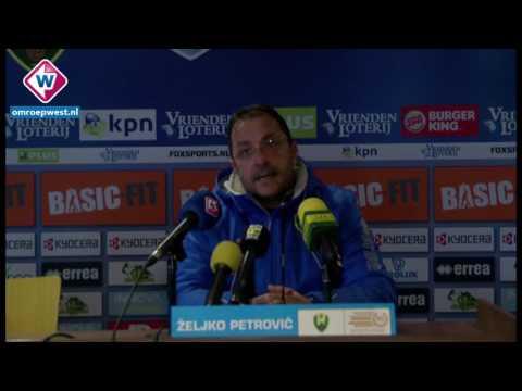 Petrovic over ADO Den Haag - FC Utrecht