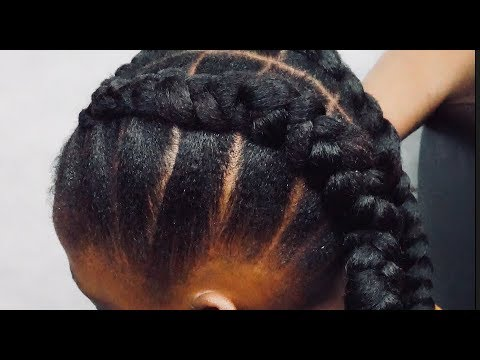 Hairstyles for short hair - QUICK HAIRSTYLE FOR SHORT 4C HAIR