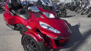 9. 005306   2015 Can Am Spyder RT S ES - Used motorcycles for sale