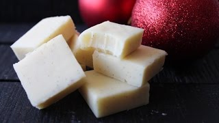 How To Make White Chocolate And Vanilla Fudge - By One Kitchen Episode 352